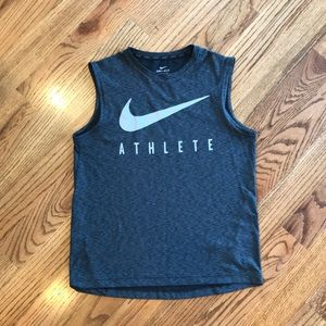 Nike boys dri-fit tank top